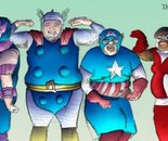 The Fat Avengers Sketch