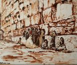 The Wailing Wall circa 1860 after Bonfils