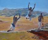 A jump in Wadi Ram 60x45 acr 2013