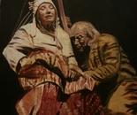 Mourning (Ashkaba)1 90x70 acr 2013