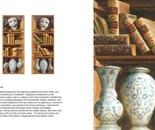 Painting Bookshelves. Artist Sergey Konstantinov.