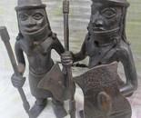 BENIN WARRIORS (bronze)