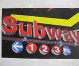 NYC Subway Entrance
