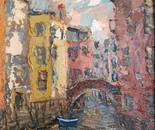 The morning in Venice