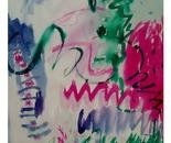 """Pink & Green Exuberance"""