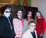 Natalya B. Parris (MURKWOOD nurse) and Damascus Community Recreation Center MURKWOOD Haunted Forest team on October 23, 2015 at DCRC