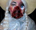 Natalya B. Parris MURKWOOD nurse as a Frankenstein bride at Damascus Community Recreation Center on October 24, 2015