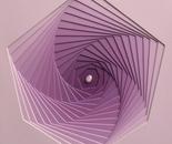 espansione del nucleo quarzo rosa II cm 70x64