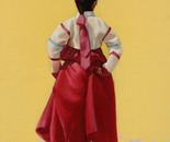Rainbow colored Hanbok