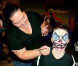 Damascus Community Recreation Center MURKWOOD Haunted Forest team on October 30, 2015 at DCRC
