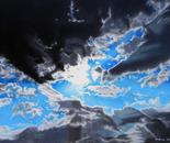 Light beyond clouds