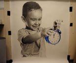 1 meter drawing
