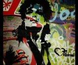 Michael Jackson stencil