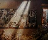 CHAOS Oil on canvas 150 cm x 150 cm