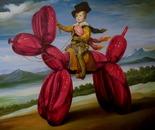A DADA ! Oil on canvas 120 cm x 120 cm