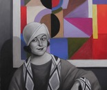 SONIA  Pastel on Paper - 100 cm x 70 cm
