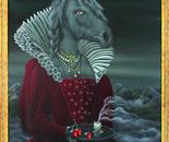 Noblesse II, Acryl auf Leinwand, 100 x 80 cm, 2013