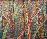 Through the Trees  200 x 270cm wide