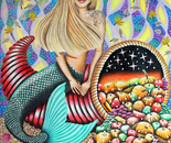 Rocker Mermaid And The Enchanted Cornucopia