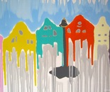 Colored houses!