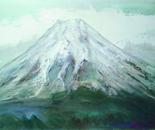 Sacred mountain Fuji