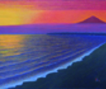 Fuji Glowing at Sunset