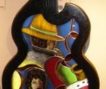 """""""La guitare de Jazz"""" 150 cm X 92 cm"""
