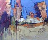 Tel Aviv. Soul and memory - 5, 120 x 70