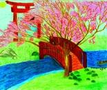 Cherry Blossom River