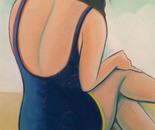 Vintage Swimmer 7