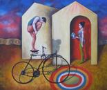 Equilibrio en bicicleta