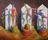 Los tres saltarines