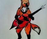 Fox Guitarist