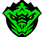 Emerald Dragon Karate Black Belt Super Hero Badge