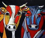 Twee koeien