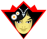 The Princess of Daisies Karate Black Belt Super Hero Badge