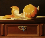 ,,Orange''-oil on canvas-46x38cm