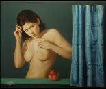,,Eva''-oil on canvas-110x90cm
