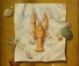 ,,Aqua''-oil on canvas-46x38cm