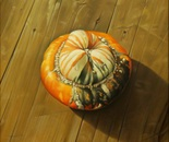 ,,Gourd''-oil on canvas-46x38cm