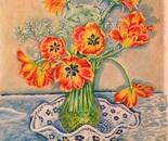 Tulipa in a Vase