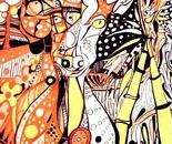 Cervo pomellato femmina-wildlife