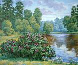 Flowering wildrose