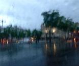 La pluie à Paris I (Paris Rain I)