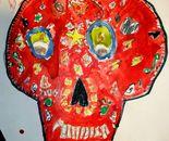 "Student's artwork on June 17, 2015; ""Exploring The World Through Art"" Arts Barn Camp June 16 - 19, 2015"