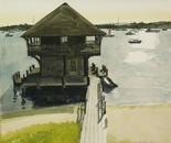 Boathouse, Edgartown, Martha's Vineyard