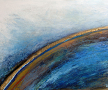 """""""705A golden atmosphere"""" Format: 172 x 118 x 5 cm, in acrylic, plastic mixing technology. 2012"""