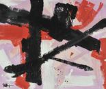 Black Orange Red Pink Marks