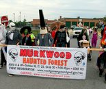 DCRC Haunted Forest team is ready for Damascus Day Parade on July 10, 2015