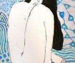Nude in Blue (2008; 60x45 cm / 23,62x17,71 in)